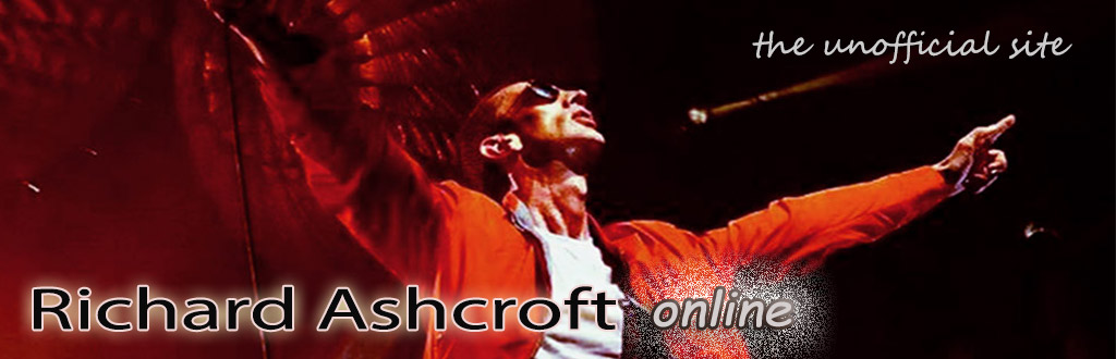 Richard Ashcroft Online