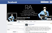 Richard Ashcroft on Facebook