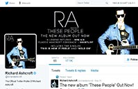 Richard Ashcroft on Twitter