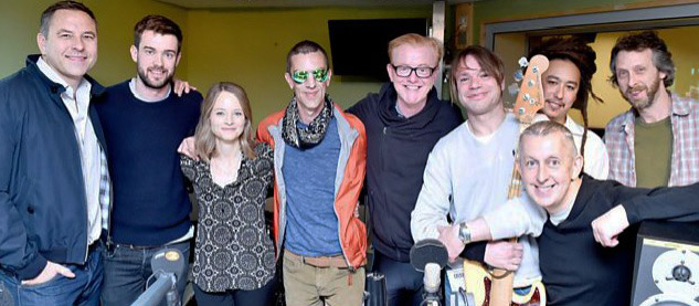 Richard Ashcroft Chris Evans Show 20-05-2016