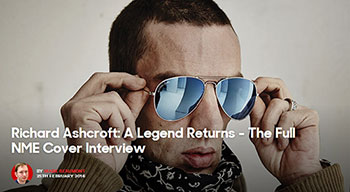 Richard Ashcroft nme article 2016