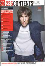 Richard Ashcroft, Q February 2006